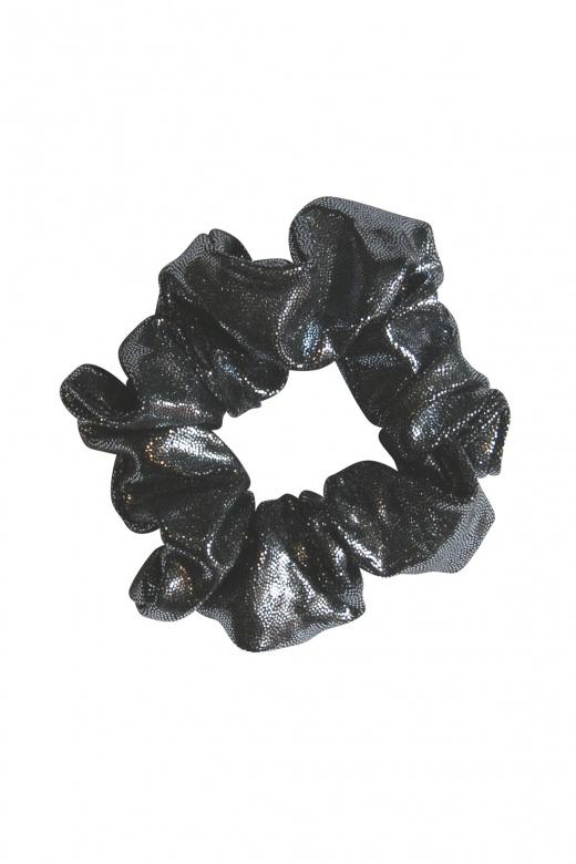 Haargummi aus glänzendem Nylon/Lycra